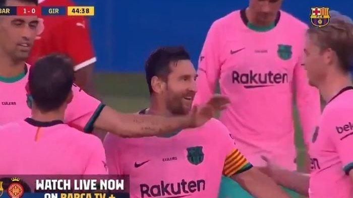 Barcelona Menang  3-1 Lawan Girona, Dua Gol Dicetal Lionel Messi dari Luar Kotak Penalti