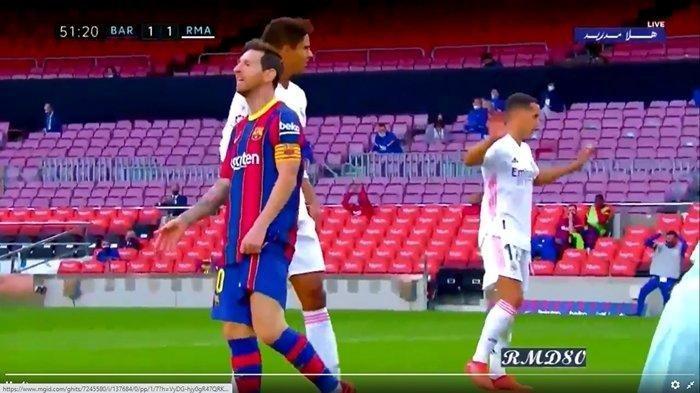 Video Detik-detik Ekspresi Kekecewaan Lionel Messi, Kesal oleh Ansu Fati