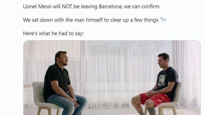 Akhirnya Karir Lionel Messi di Barcelona Terjawab, Akui Setiap Musim Minta Hengkang