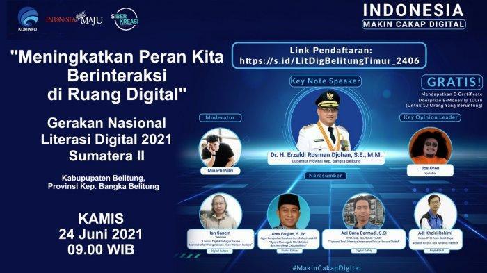 Literasi Digital Ajak Peserta Meningkatkan Pengetahuan Warisan Budaya di Era Digital