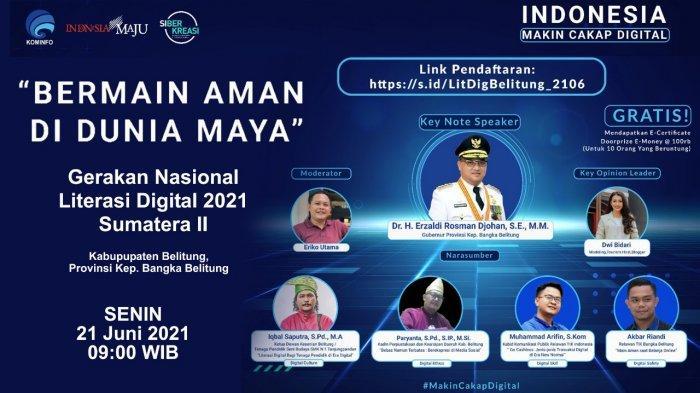 Literasi Digital Kabupaten Belitung Ajak Masyarakat Gunakan Transaksi Digital di Era New Normal