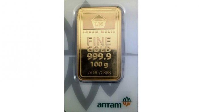 Harga Emas di Pegadaian Turun Tipis di Awal Bulan Ramadhan 2021, Emas Antam Rp 967.000 per Gram