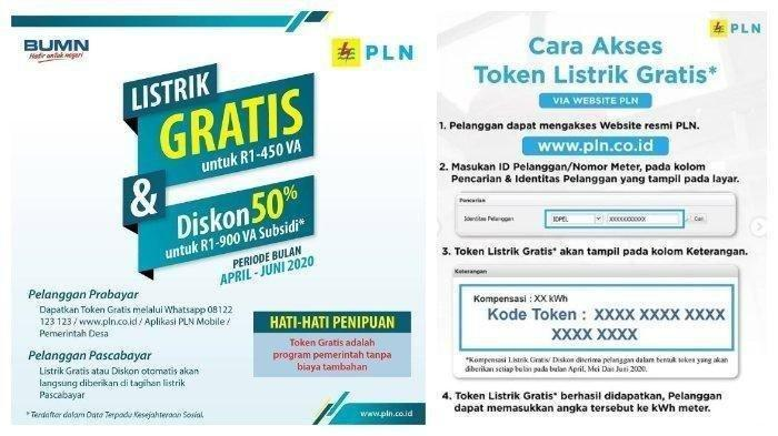 Login www.pln.co.id atau WhatsApp 08122123123 Untuk Dapat Token Listrik Gratis PLN
