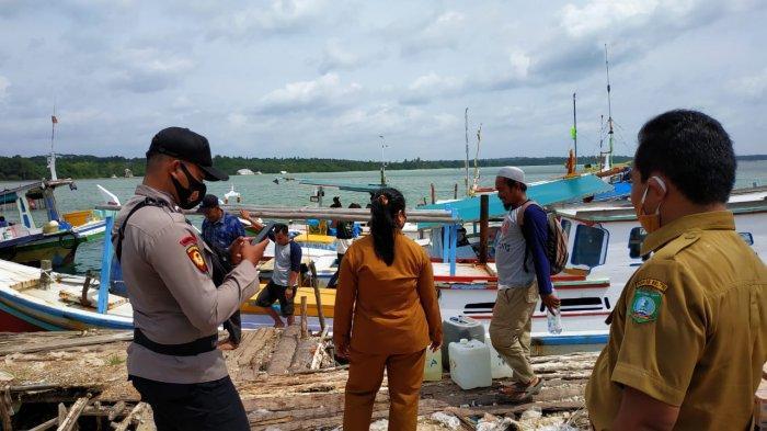 Soal Kapal Logistik Pulau Batun Tanpa Kabar, Kasat Polair Coba Kontek Pakai HT