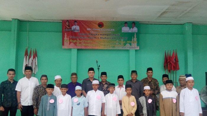 Gelar Lomba Azan Jadi Pilihan DPC PDIP Bangka Barat Peringati Tahun Baru Islam