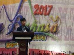 Al Ghifari Memukau Juri Lomba Pidato Bahasa Indonesia di Lampung