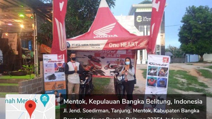 Dealer Honda Asia Surya Perkasa (ASP) cabang Muntok mengadakan Roadshow untuk mengenalkan Beat series dan Genio Series dengan tampilan barunya. Roadshow kali ini diramaikan oleh  Live Musik dan lomba Stand Up Comedy yang diikuti oleh stand up diseluruh Bangka Barat.