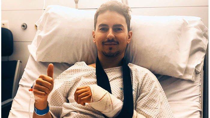 Tangan Lorenzo Dipasang Sekrup Khusus Agar Cedera Segera Pulih Demi Seri Perdana MotoGP 2019