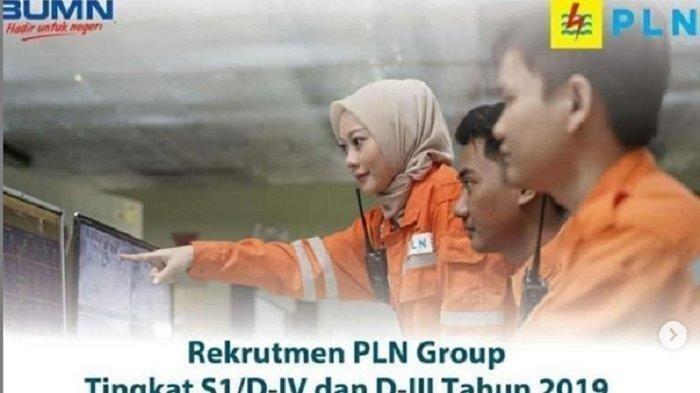 PT PLN Buka Lowongan Baru, Rekrutmen Pegawai, Terima Lulusan S1, D3 hingga D4, Daftar di Sini!
