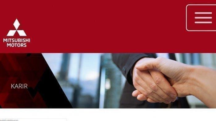 PT Mitsubishi Motors Buka Lowongan Kerja untuk 3 Posisi, Daftar Lamaran di Link Resmi Ini