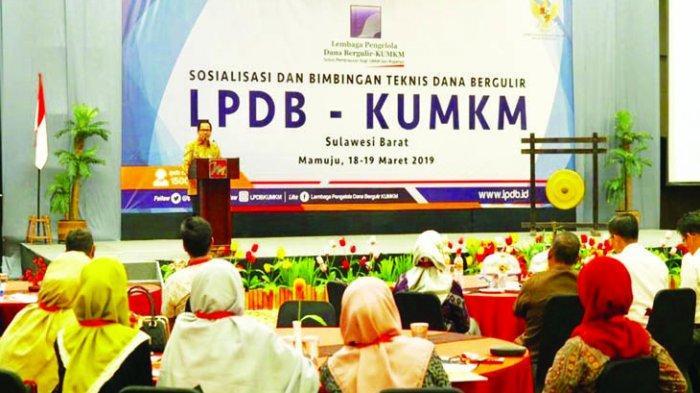 LPDB Targetkan Penyaluran Dana Bergulir di Sulawesi Barat Capai Rp 100 Miliar