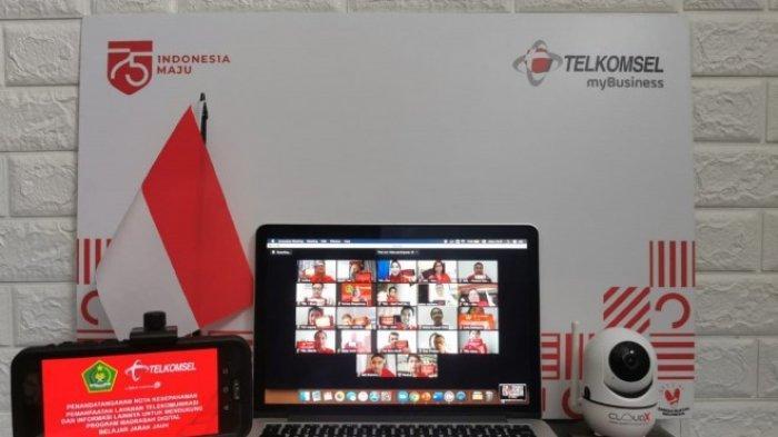 Telkomsel Perkuat Inisiatif Program Madrasah Digital Belajar Jarak Jauh
