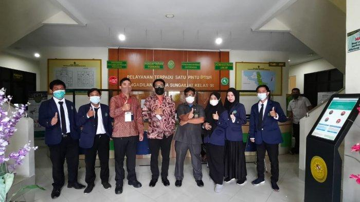 PKL Mahasiswa IAIN SAS di Pengadilan Agama Sungailiat Resmi Berakhir