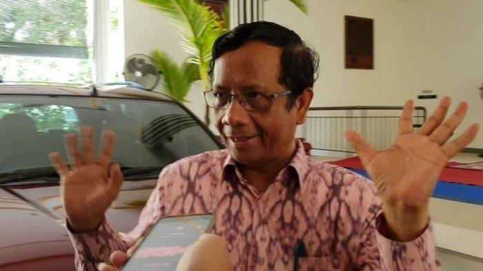 Kisah Mahfud MD Gagal Jadi Menteri Era SBY hingga Cawapres Jokowi, Kini Jabat Menko Polhukam
