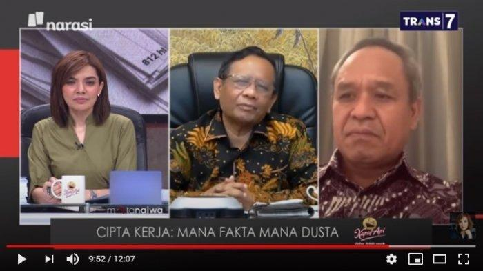 DAFTAR NAMA Aktor Demo Undang-undang Cipta Kerja Dikantong Mahfud MD, Katanya Tak Ada Nama SBY