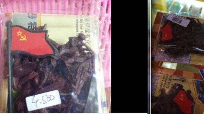 Mainan Tentara Logo Palu Arit ini Ditemukan Dijual di Mall, Polri-TNI Langsung Selidiki