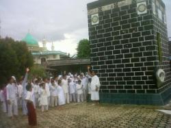111 Calhaj Bangka Tengah Ikuti Manasik Haji