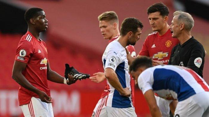 Hasil Akhir Manchester United Vs Crystal Palace, Setan Merah Tumbang 3-1, Van de Beek Cetak Gol