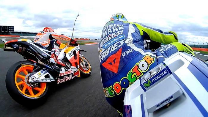 Duel Rossi vs Marquez di GP Inggris, Beda dengan di Sepang