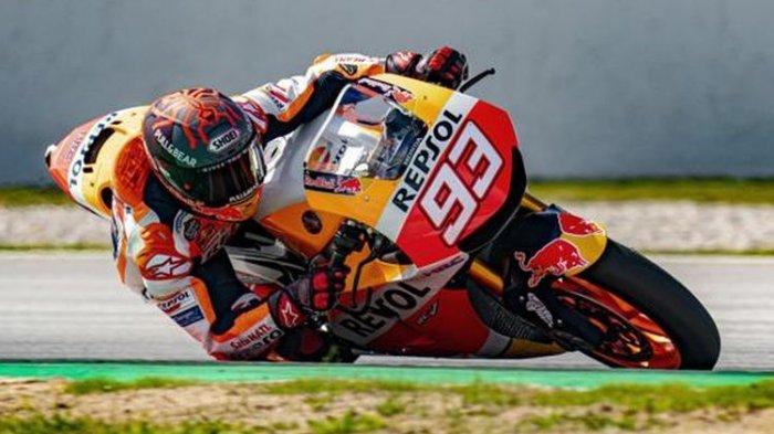 Masih Tahan Sakit di GP Portugal, Marquez Akui Belum Sembuh Total