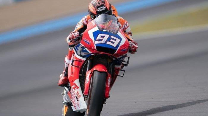 Marc Marquez Jajal Motor Pembalap Lain saat Tes di Sirkuit Jerez