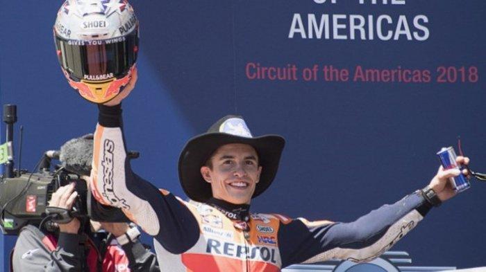 Marc Marquez Bidik Rekor Milik Valentino Rossi Usai Merajai MotoGP Americas