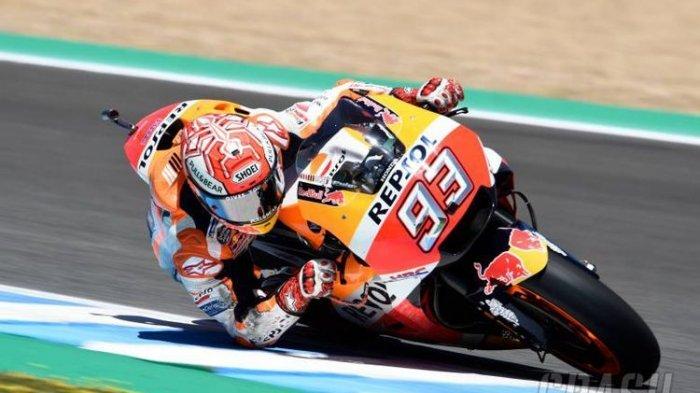 Marc Marquez Sukses Patahkan Dominasi Andrea Iannone di Sesi Latihan Ketiga MotoGP Italia