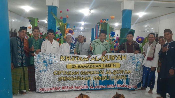 Ciptakan Generasi Cinta Quran, Desa Simpang Yul Laksanakan Kegiatan Khataman Al Quran