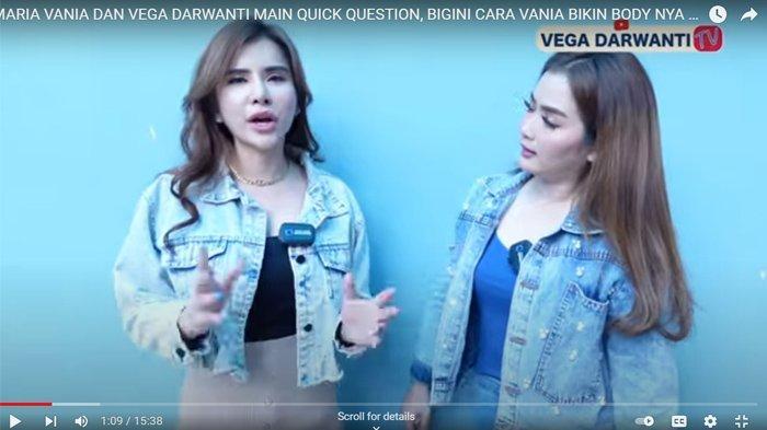 Maria Vania beberkan kriteria pasangan kepada Vega Darwanti