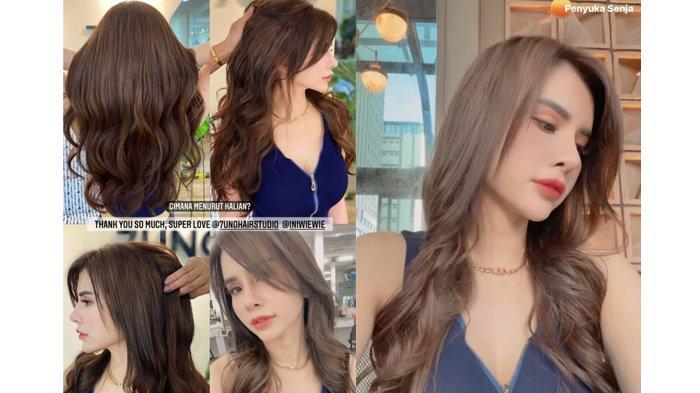 Maria Vania ubah warna rambut seperti cewek Korea