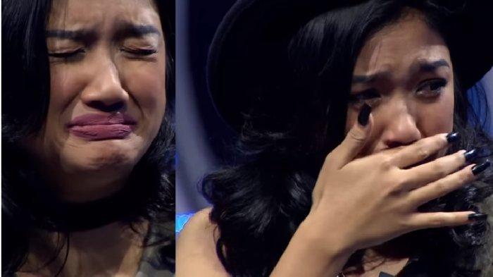 Marion Jola Berderai Air Mata Tersingkir dari Top 6 Indonesian Idol 2018