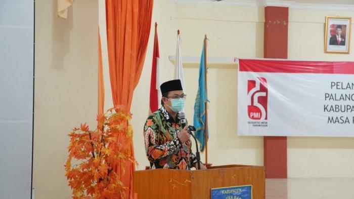 Pengurus PMI Babar 2020-2023 Dilantik, Markus Harap Stok Darah untuk Masyarakat Aman