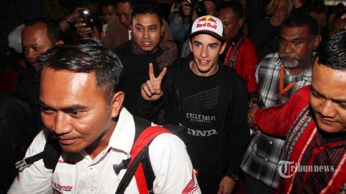 Besok Marquez Akan Sapa Fans di Sirkuit Sentul