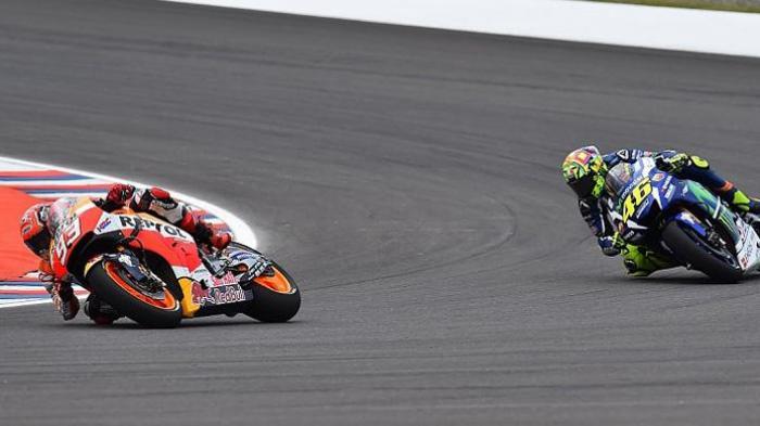 Rossi Malu Dikalahkan Marquez, Padahal Motornya Paling Cepat