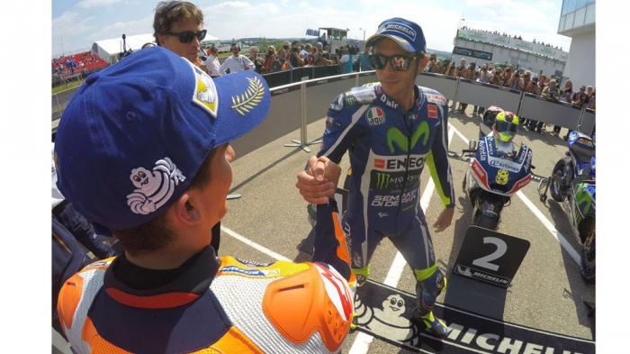 Rossi Bisa Hentikan Si Raja Sachsenring Marc Marquez Jika Syarat Ini Terpenuhi