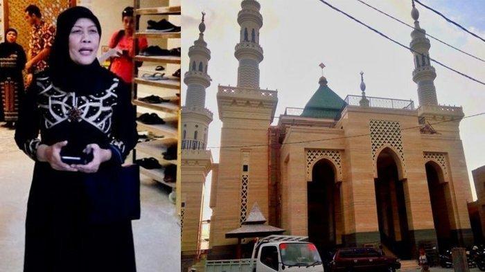 Suciati Jualan Ayam Sejak SMP, Lalu Bangun Masjid Megah di Kampungnya, Lihat Isinya Bikin Adem