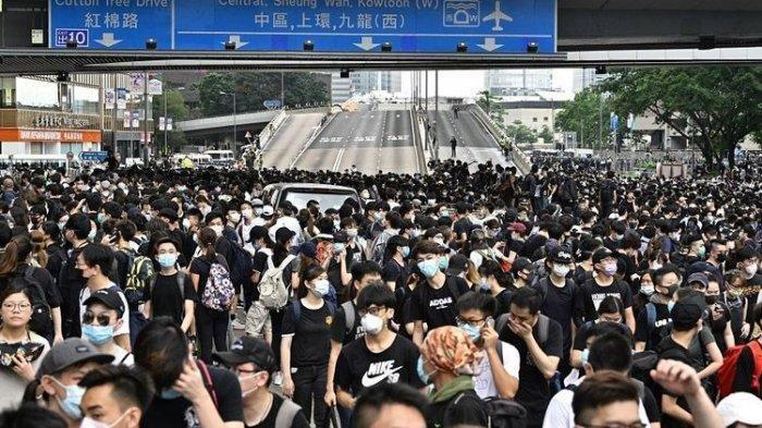 10.800 Penduduk Hongkong Membelot dan Pindah ke Taiwan Ternyata Ogah Jadi Warga Negara China
