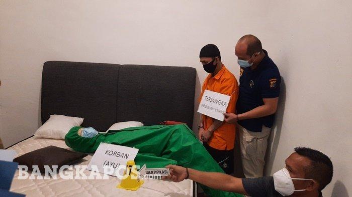 Tak Kuat Angkat Mayat dalam Karung, Abdullah Yahya Pelaku Pembunuhan Sadis Batal Buang Jasad Korban - mayat-a3.jpg