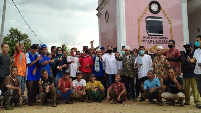 Bersama MCM Babel Hendra Apolo Ajak Masyarakat Cinta Masjid