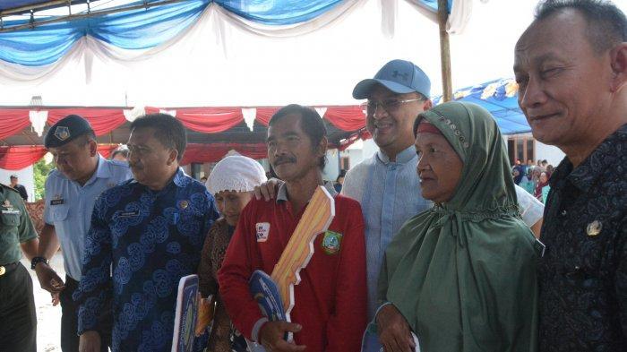Gubernur Serahkan Rumah Layak Huni, Relokasi Korban Banjir Dusun Merante