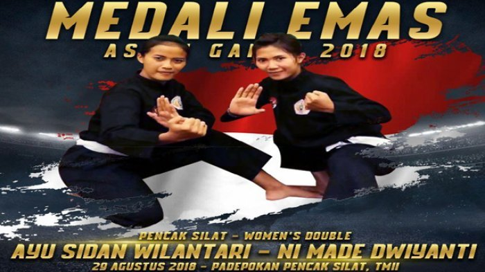 Masih Bertengger di Peringkat Empat Asian Games 2018, Ini Perolehan Medali Emas Indonesia