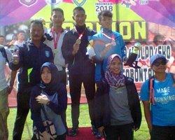 Babel Bawa Pulang 2 Emas Dalam Kejurnas Atletik PPLP/PPLPD di Gorontalo