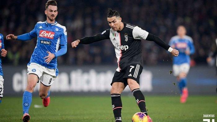 Usai Kalah dari Napoli, Ronaldo Marah-marah di Ruang Ganti