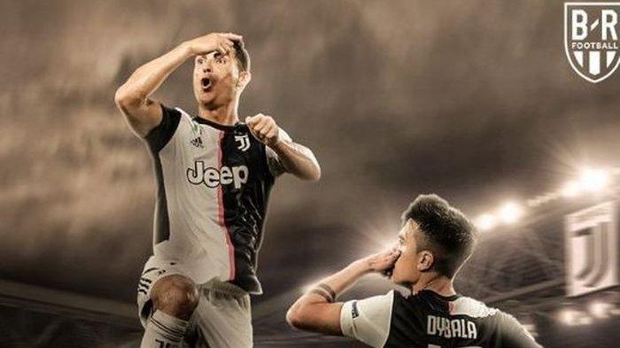 Liga Italia Juventus vs AS Roma, Gol Ronaldo Selamatkan Si Nyonya Tua dari Kekalahan