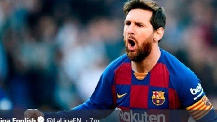 Fan Napoli Sambut Messi Bagaikan Maradona