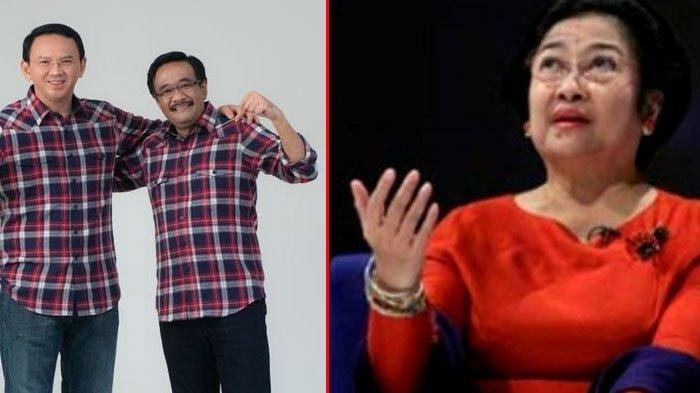Beginilah Reaksi Mengejutkan dari Megawati Soekarnoputri Saat Mengetahui Ahok-Djarot Kalah