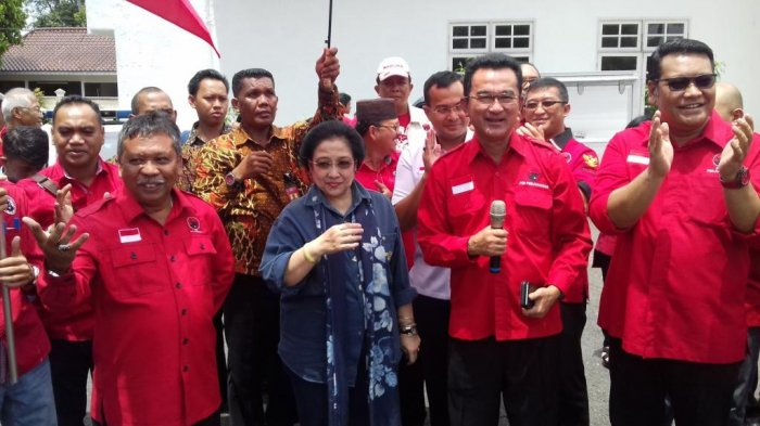Megawati Konsolidasikan Kader Menangkan Rustam - Irwansyah