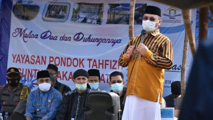 Berkolaborasi dengan Mitra, Gubernur Bangka Belitung Bantu Biaya Operasional Pondok Pesantren