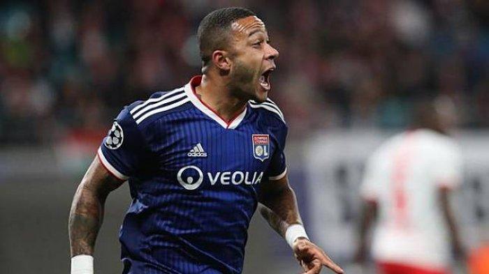 Jelang Duel Juventus vs Lyon Babak 16 Besar Liga Champions, Memphis Depay Yakin Hentikan Bianconeri