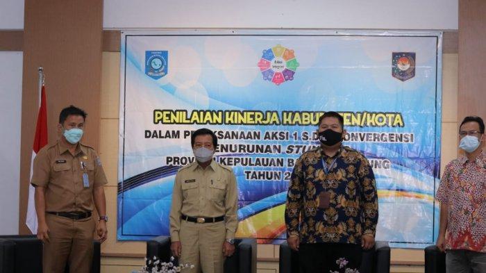 Wagub Bangka Belitung Apresiasi Komitmen Kabupaten/Kota Terapkan 8 Aksi Turunkan Stunting di Babel